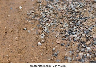 rock and sand background floor