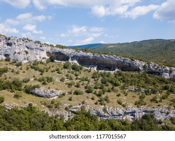 Rock shelter (rockhouse, crepuscular cave, bluff shelter, abri) of Veli Badin is the biggest natural feature of its kind in SE Europe. Local people named it due to its shape 'Ears of Istria'.