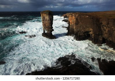 Rock stack in Orkney