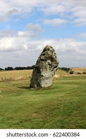 rock at stonehenge