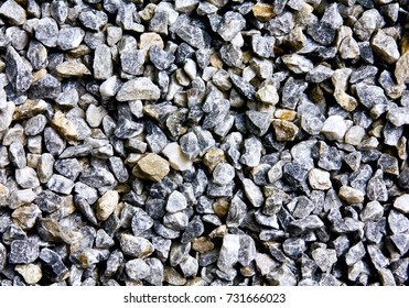 rock and stones texture /Black and white background