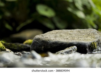 Rock in the stream