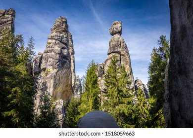 Rock Town of Adrspach in the Czech Republic