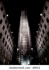 Rockefeller Center At night  View 3
