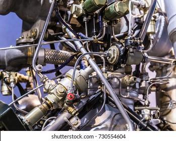 Rocket Engine Launcher Detail Exhibition