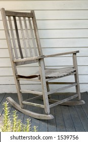 rocking chair on porch