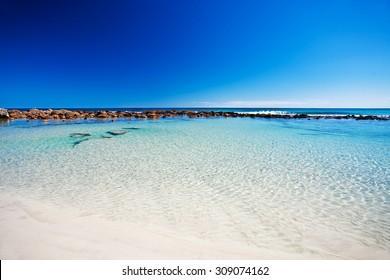 Rockpool at stokes bay, Kangaroo Island, South Australia