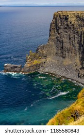 Rocks and beach in Cliffs of Moher, Doolin, Clare, Ireland