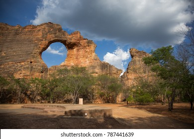 Rocks and Caatinga in Serra da Capivara