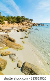 Rocks in Cala Pira, Sardinia