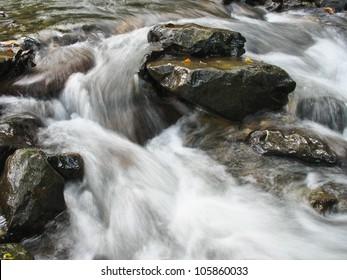 rocks cascade creek