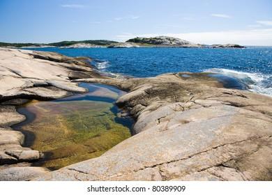 Rocks at the coastline