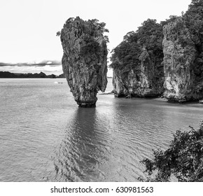 Rocks of James Bond Island.