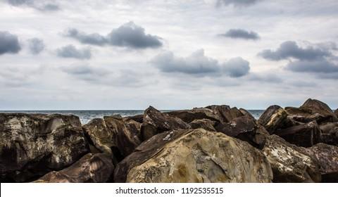 The Rocks at the Lake