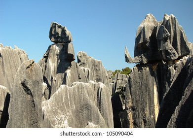 Its rocks are made of limestone and are formed by water percolating the ground�s surface and eroding away everything but the pillars