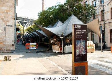 The Rocks Markets - Sydney - Australia