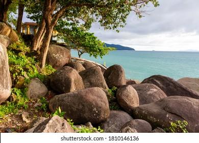 Rocks near the beach of Dawei,Myanmar