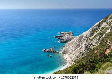 Rocks near Petani Beach, Kefalonia, Ionian Islands, Greece