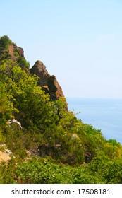 Rocks near the sea