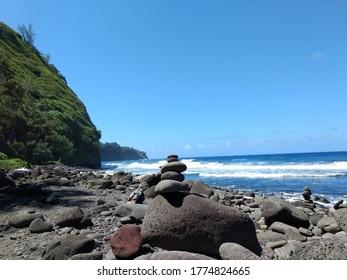 Rocks on the Big Island in Hawaii