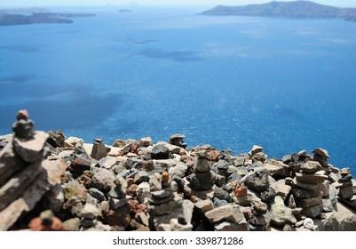 Rocks on top of Rocks