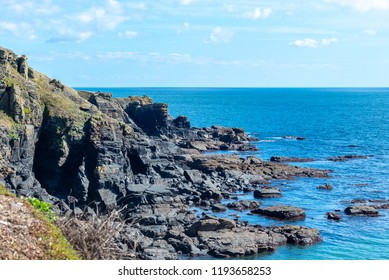 Rocks and sea of the Lizard Peninsula