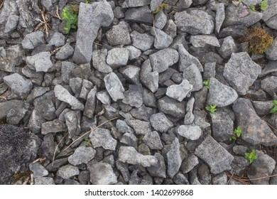 Rocks stones gravel pattern texture, raw land