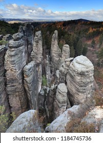 Rocks town in Prachov