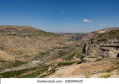 rocks and valley view Turkey, Malatya