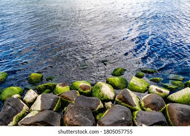 Rocks in the water by the Baltic Sea
