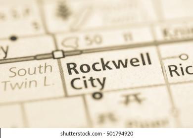 Rockwell City. Iowa. USA.