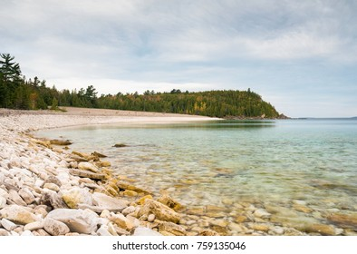 Rocky Beach and Clear Water