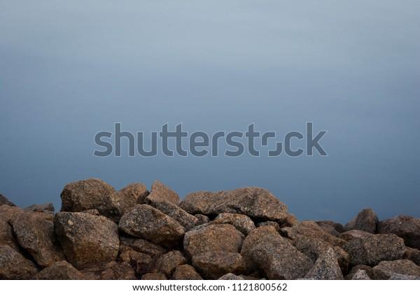 Rocky Calm Lake