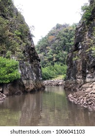 Rocky Cliff along River Cruise