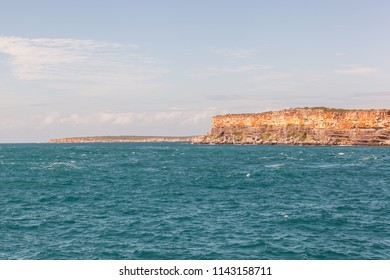 Rocky cliff formation at Point William, Arnhem Land, Northern Territory, Australia