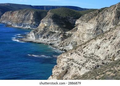 Rocky Coast of Cabo de Gata, Spain