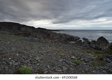 Rocky coast in Northern Norway