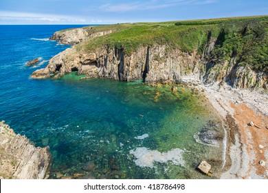 Rocky coast of Spain. Galicia