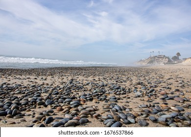 rocky coastline on a clear day