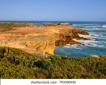 Rocky coastline of southern Australia near Warrnambool Victoria