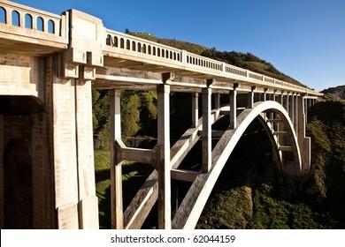 how to build a concrete arch