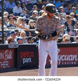 Rocky Gale catcher for the San Diego Padres at Petco Park in San Diego California USA September 23,2017.