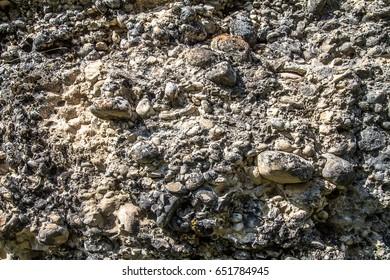 Rocky ground as a background