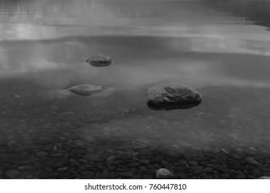 Rocky Lake Shoreline