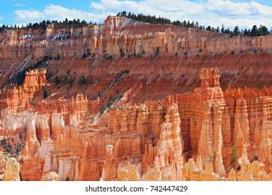 Rocky landscape, Bryce National Park, Utah, USA