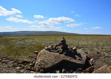 Rocky landscape Quebec