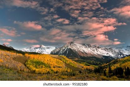 Rocky Mountain Autumn Mount Sneffels