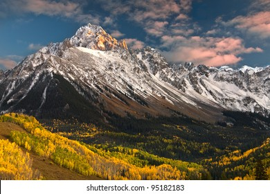 Rocky Mountain Autumn Mount Sneffels
