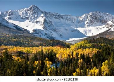 Rocky Mountain Colorado Autumn