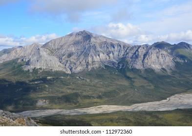 Rocky mountain landscape
